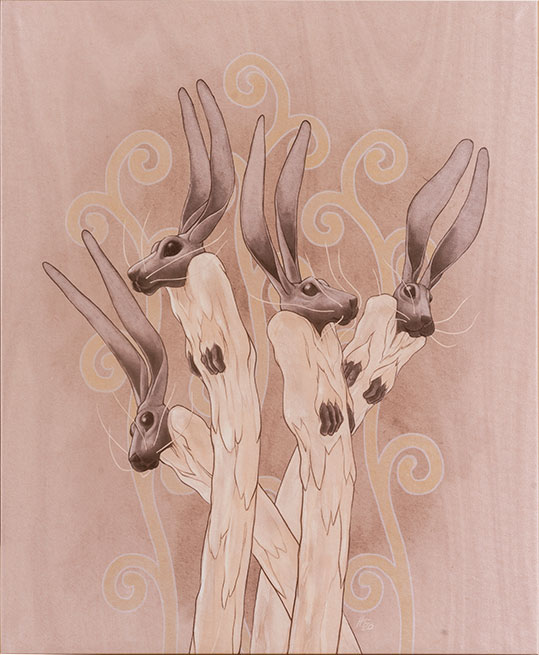 Hares of four